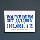 Personalised You've Been Mine Unframed Print