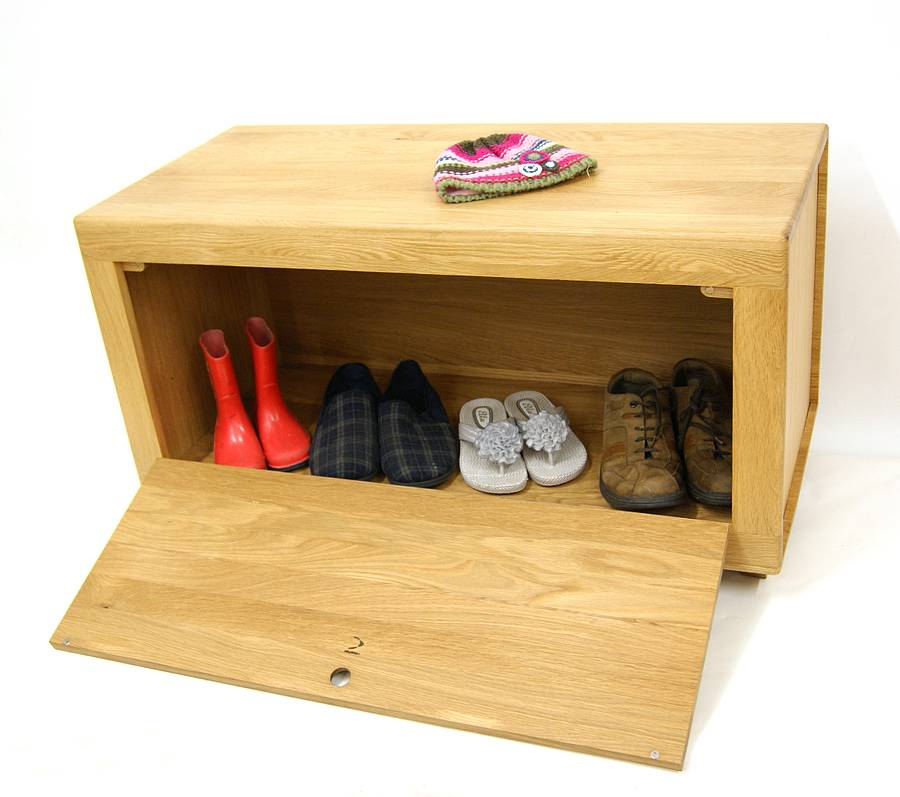 Toy Box Shoe Storage Bench By Mijmoj Design