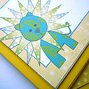 lion-bird-illustrated-notelets-blue-yellow-ink-pudding-notonthehighstreet