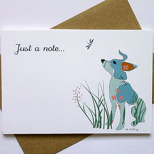 Personalsed Dog Notecards - personalised