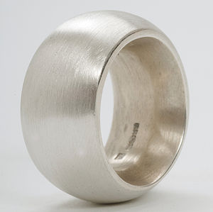 Silver Fat Ring - rings