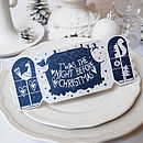 Dream House Christmas Cracker Card