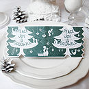 Dream Tree Christmas Cracker Card