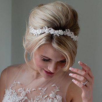 Daisy Floral Wedding Headband