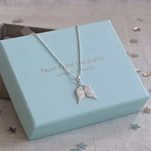 Angel Wings Necklace For Girls - children's accessories