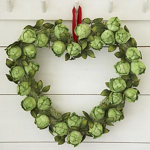 Brussel Sprout Wreath - home accessories