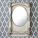 *Sale: Save 40%*Vintage Piazza Oval Mirror