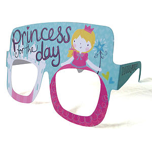 Birthday Princess Card Glasses - birthday cards