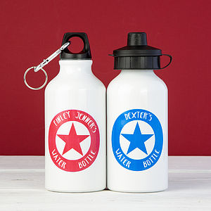 Personalised Star Water Flask - camping