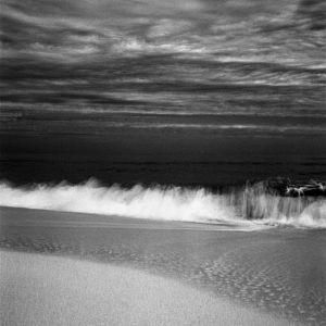 Santa Maria Beach, Cuba Black And White Signed Print