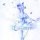 'Let Go' Pirouette Original Screen Print