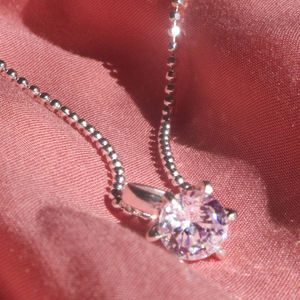 Big Girls Diamond Ring Necklace