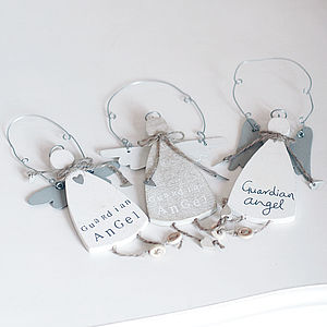 Guardian Angel Hanging Decoration - decorative accessories