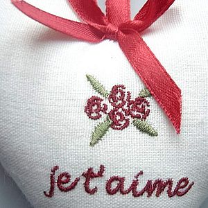 'Je T'aime' Heart - home accessories