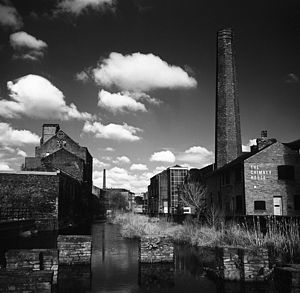 The Chimney House, Black And White Signed Art Print - architecture & buildings