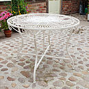 Cream Secret Garden Table And Chair Range