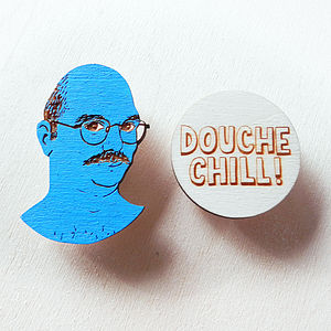 'Arrested Development' Brooch Set