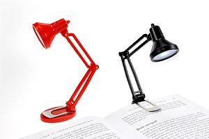Tiny Tim Booklight - desk lamps