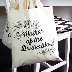 Mother Of The Bridezilla Tote Bag - hen party gifts & styling