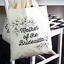 Mother Of The Bridezilla Tote Bag
