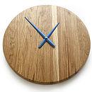 Juxta Wooden Clock