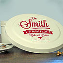 Personalised Family Cake Tin