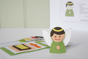 Angel Finger Puppet Sewing Kit