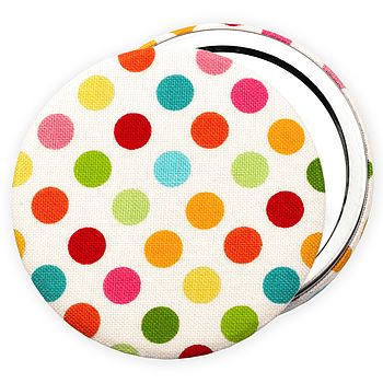 ''Polka Dot'' Pocket Mirror