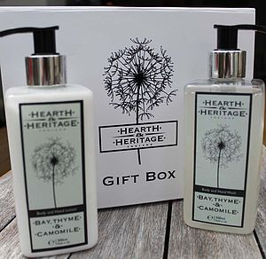 Cottage Garden Body Gift Set - hand care