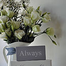 'Always Kiss Me Goodnight' Shelf Blocks