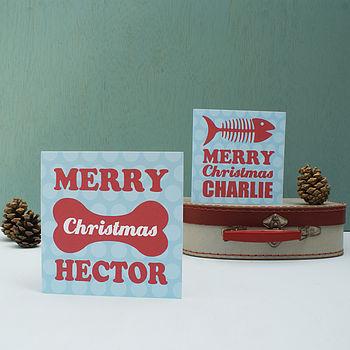 Personalised Pet Christmas Card