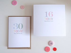 Birthday Wishes - special age birthday cards