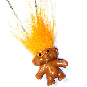 Retro Troll Necklace - necklaces & pendants