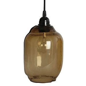 Smoke Glass Shade - lighting