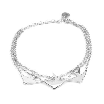 Three Swallow Bracelet