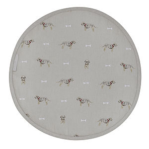 Set Of Two Terrier Round Hob Covers - kitchen accessories