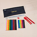 Personalised Pencil Case And Accessories