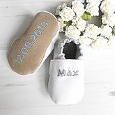 Personalised Christening Shoes - sale