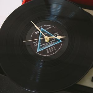 Music Vinyl Lp Record Clock - clocks