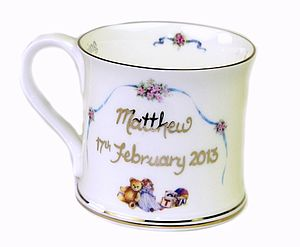 Personalised Christening Cup - christening gifts