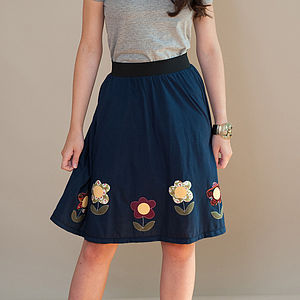 Scandinavian Flower Skirt - skirts & shorts