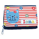Girl's Personalised Denim Purse