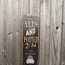 Reclaimed Bottle Opener Board