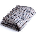 Wool Dot Reversible Throw