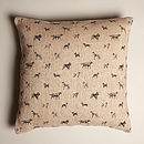 All The Breeds Jute Cushion