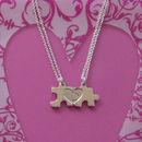 My Mummy And My Heart Necklace Set