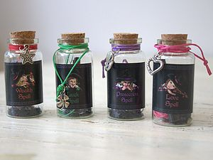 Witches Spell Jars - view all gifts for babies & children