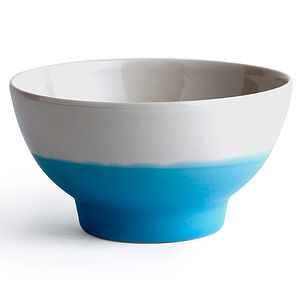 Dipped Bowl - on trend: ombre
