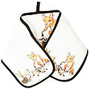 Fox Hare And Hedgehog Animal Cotton Oven Gloves