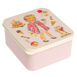Dress Up Dolly Lunch Box - lunch boxes & bags